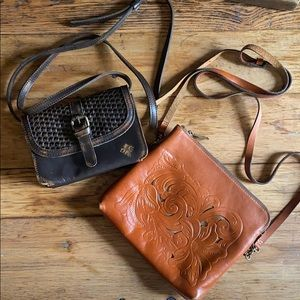 2 Patricia Nash Crossbody Purses